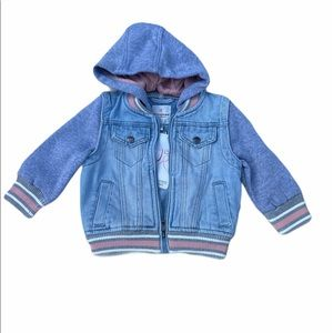 Urban Republic Pieced Denim Jacket
